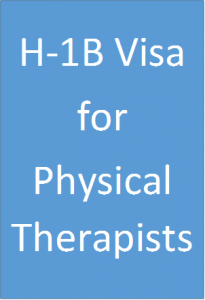 H-1B Visa for Physical Therapists
