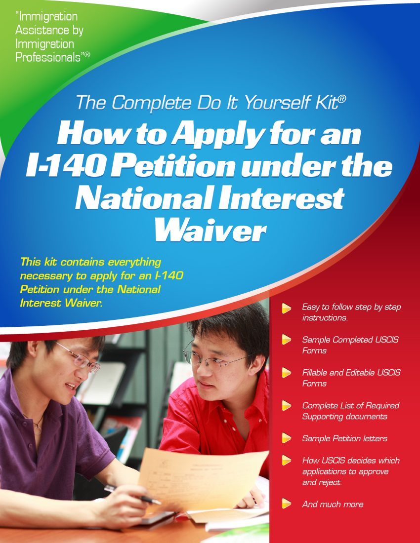 National Interest Waiver Green Card Step By Step Guide