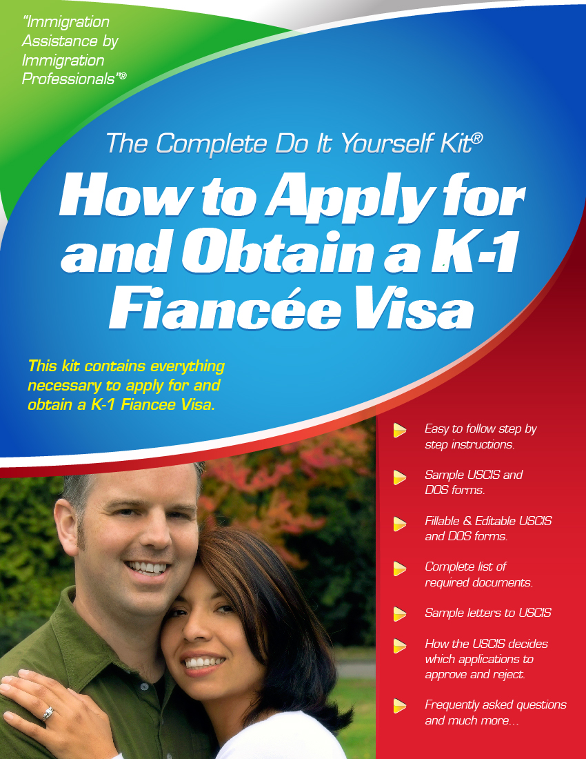 K 1 fiance visa complete do it yourself kit top rated k 1 fiance visa complete do it yourself kit solutioingenieria Choice Image