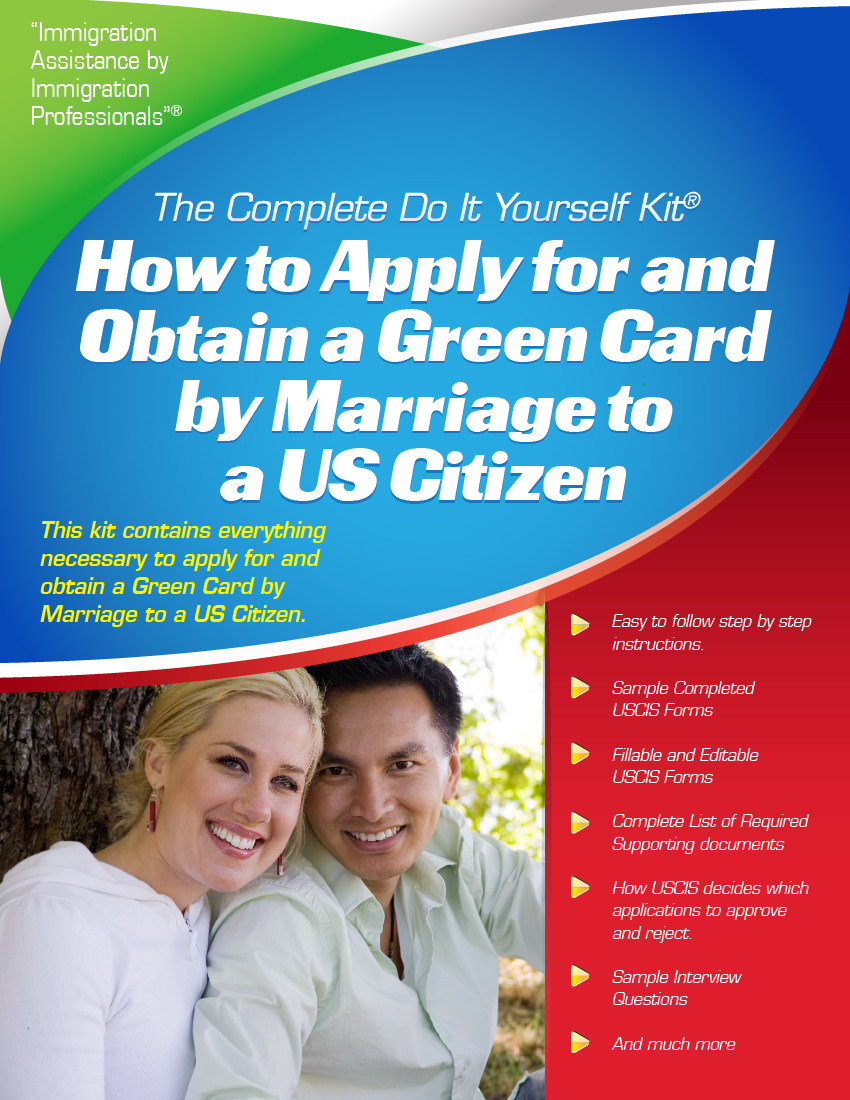 Green card by marriage to a us citizen complete do it yourself green card by marriage to a us citizen complete do it yourself kit solutioingenieria Choice Image