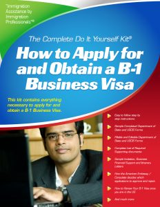 B-1 Visa for Business Visitors - Complete Do it Yourself Kit