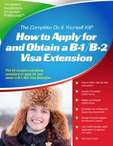 B-1 / B-2 Visa Extension