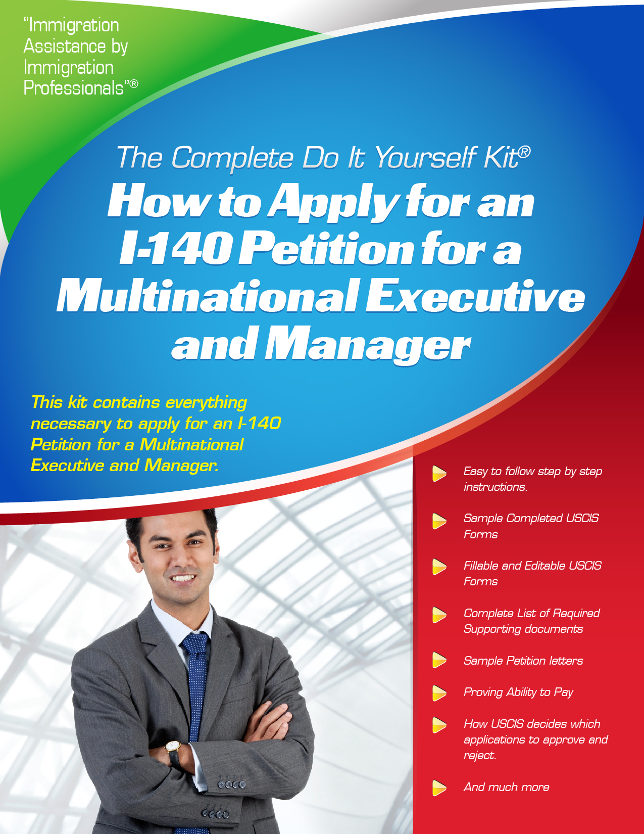 I 140 petition for multinational executives and managers i 140 petition for multinational executives and managers complete do it yourself kit solutioingenieria Choice Image