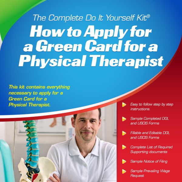 Physical Therapist Green Card Kit
