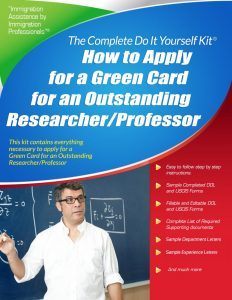 EB-1B Outstanding Researcher Professor Kit