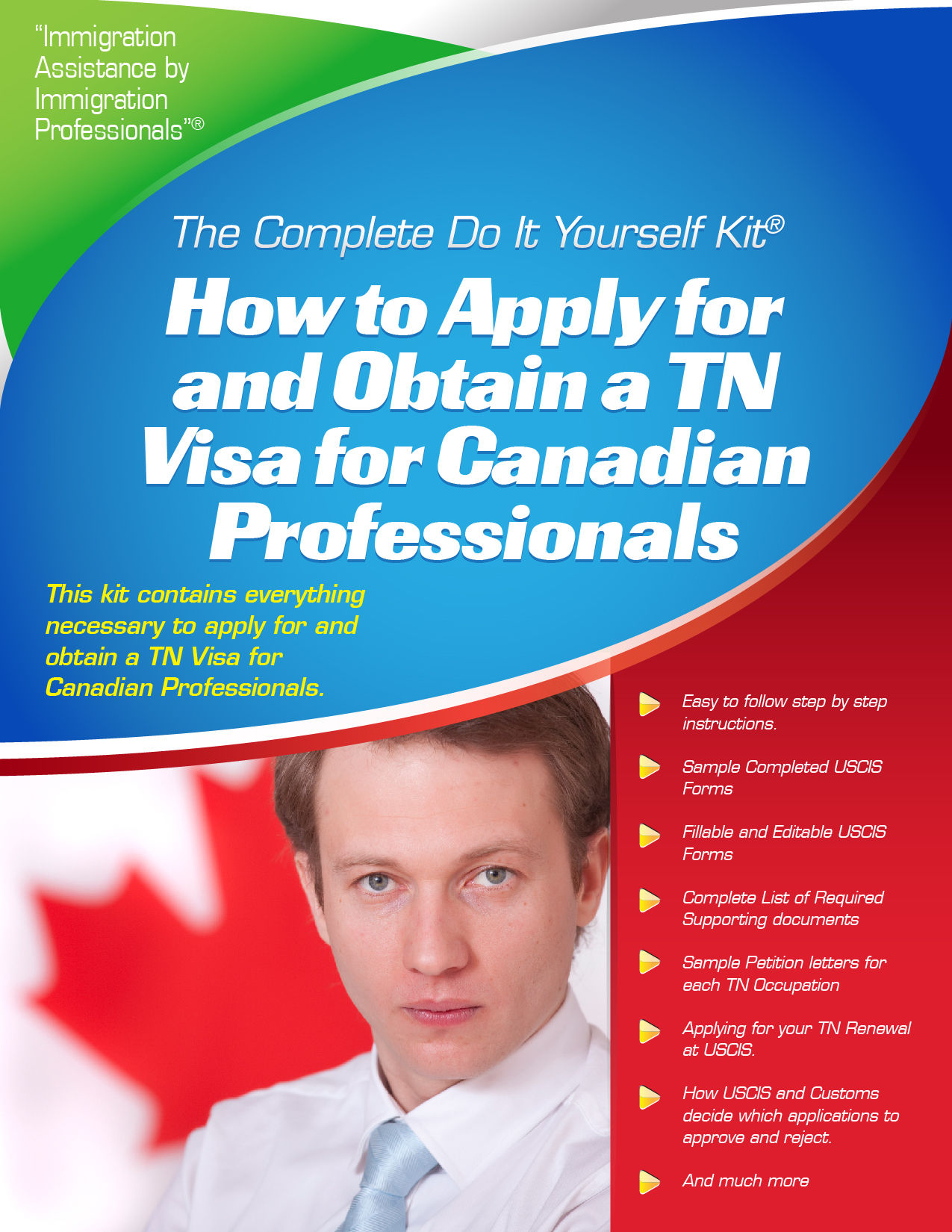 Tn visa for canadian professionals complete do it yourself kit tn visa for canadian professionals complete do it yourself kit solutioingenieria Choice Image