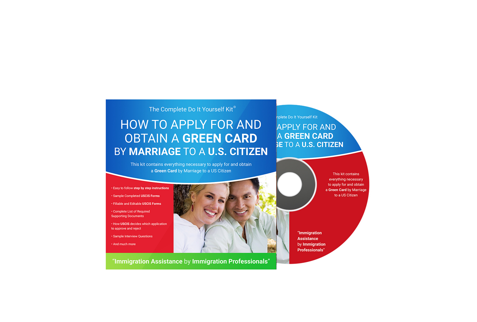 Green card by marriage to a us citizen complete do it yourself green card by marriage to a us citizen complete do it yourself kit cd and download version solutioingenieria